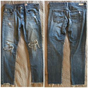 AG Distressed Jeans, Size 29
